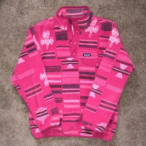 Girls XL Pink Synchilla Patagonia